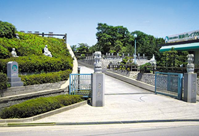 阪奈グレイブガーデンの特徴3 園内管理
